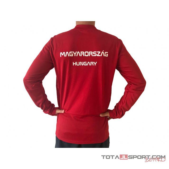 adidas Magyar címeres pulóver (Condivo, V nyakas)