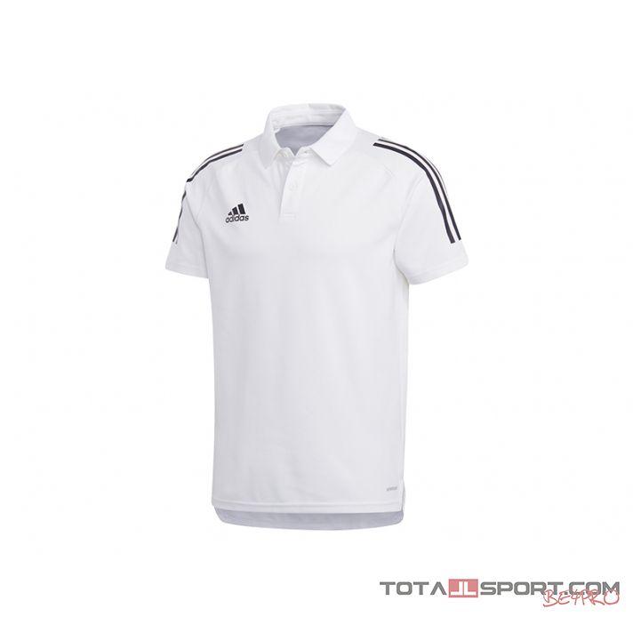 Adidas Condivo 20 galléros póló (fehér)